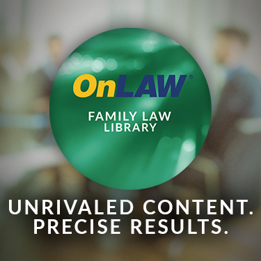 OnLAW Family Law Library