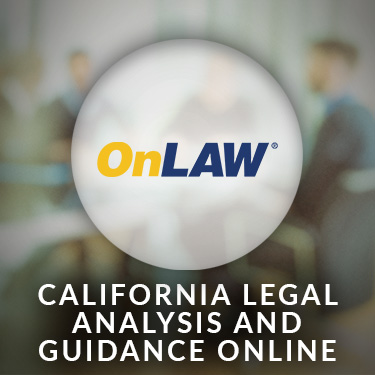 OnLAW — California Legal Analysis and Guidance Online
