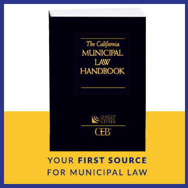 the california municipal law handbook
