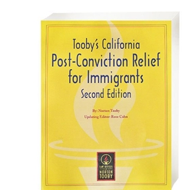 Picture of Tooby's California Post-Conviction Relief for Immigrants