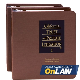 Picture of California Trust and Probate Litigation