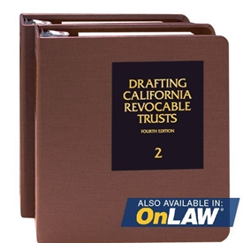 Picture of Drafting California Revocable Trusts