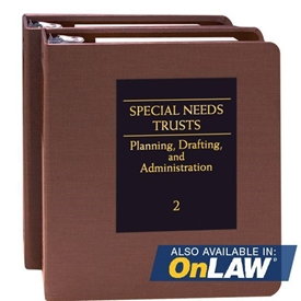 Picture of Special Needs Trusts: Planning, Drafting, and Administration