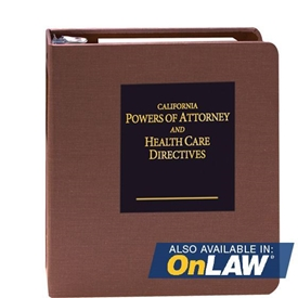 Picture of California Powers of Attorney and Health Care Directives