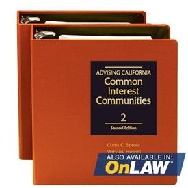 Picture of Advising California Common Interest Communities