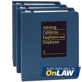 Picture of Advising California Employers and Employees