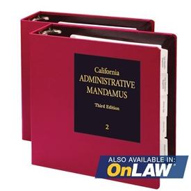 Picture of California Administrative Mandamus