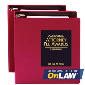 Picture of California Attorney Fee Awards