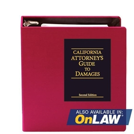 Picture of California Attorney's Guide to Damages