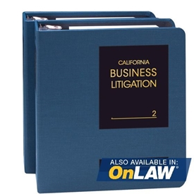 Picture of California Business Litigation