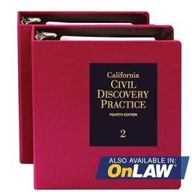 Picture of California Civil Discovery Practice