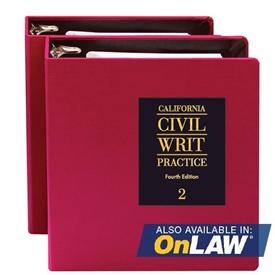 Picture of California Civil Writ Practice