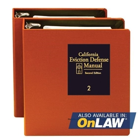 Picture of California Eviction Defense Manual