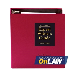 California Expert Witness Guide