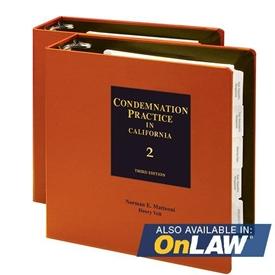 Condemnation Practice In California