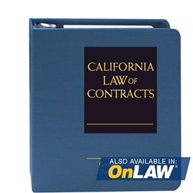 California Law of Contracts
