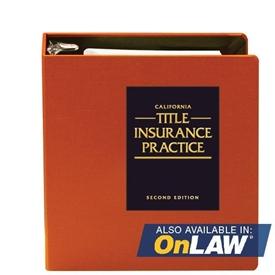 California Title Insurance Practice