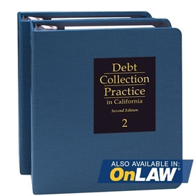 Debt Collection Practice in California