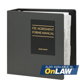 Fee Agreement Forms Manual