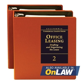Office Leasing: Drafting and Negotiating the Lease