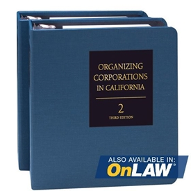 Organizing Corporations in California