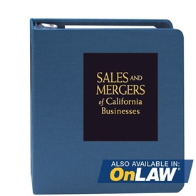 Sales and Mergers of California Businesses