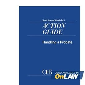 Handling A Probate