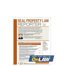 Real Property Law Reporter