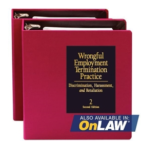 Picture of Wrongful Employment Termination Practice:  Discrimination, Harassment, and Retaliation