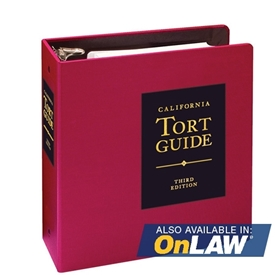 California Tort Guide