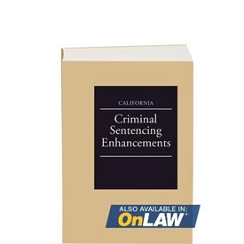 California Criminal Sentencing Enhancements
