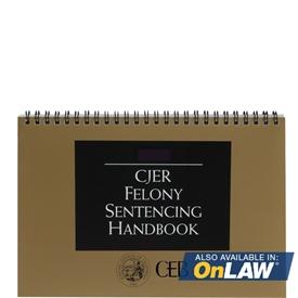 Felony Sentencing Handbook 2017