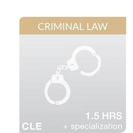 The Basics 2017: Criminal Discovery