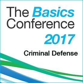 The Basics 2017: Criminal Defense