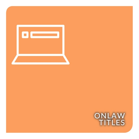 Show products in category OnLAW Titles