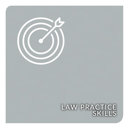 Show products in category Law Practice Skills