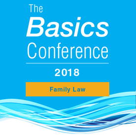 Basics Conference 2018: Family Law