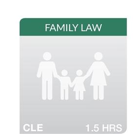 Key Developments in Family Law 2018