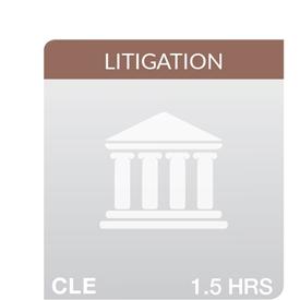 Key Developments in California Appellate Practice 2018