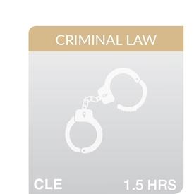 Key Developments in Criminal Law 2018