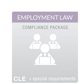 Employment Law MCLE Compliance Package