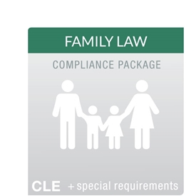 Family Law MCLE Compliance Package