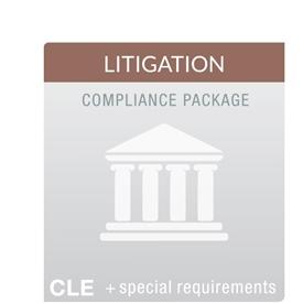 Litigation MCLE Compliance Package