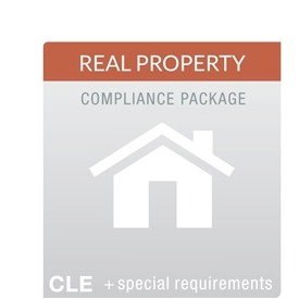 Real Property Law MCLE Compliance Package