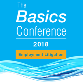 Basics Conference 2018: Employment Litigation