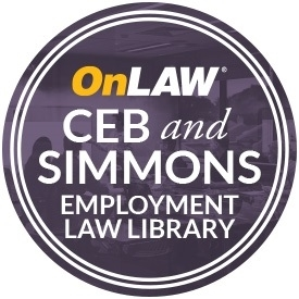 CEB and Simmons Employment Law Library