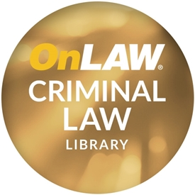 OnLAW Criminal Law Library
