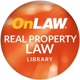 OnLAW Real Property Library