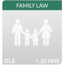 7th Annual Cultural Competency in Family Law Practice: The Millennial Family: Moving Toward a Marriage-less Society